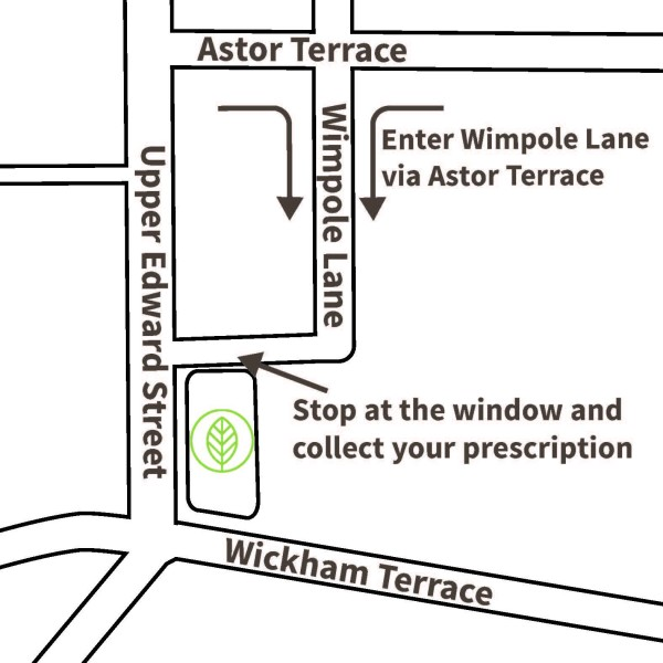 Wickham House Map